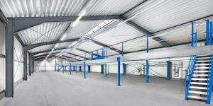 Beispiel für den Hallenbau durch Thomas Treude