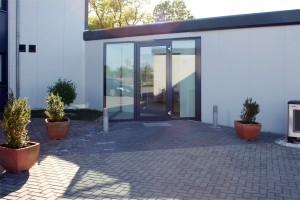Bürocontainer von außen