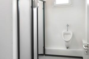 Sanitärcontainer von Innen
