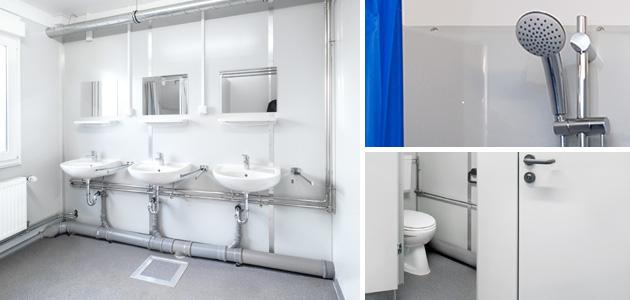 Sanitärcontainer – ideale Lösungen rund um die Hygiene.
